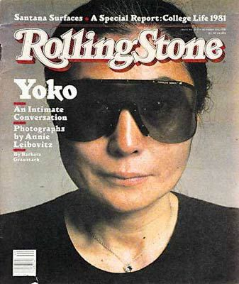 Yoko Ono - Rolling Stone Magazine [United States] (1 October 1981)