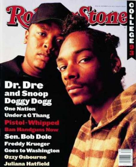 Snoop Dogg - Rolling Stone Magazine [United States] (30 September 1993)