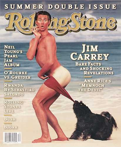Jim Carrey - Rolling Stone Magazine [United States] (13 July 1995)