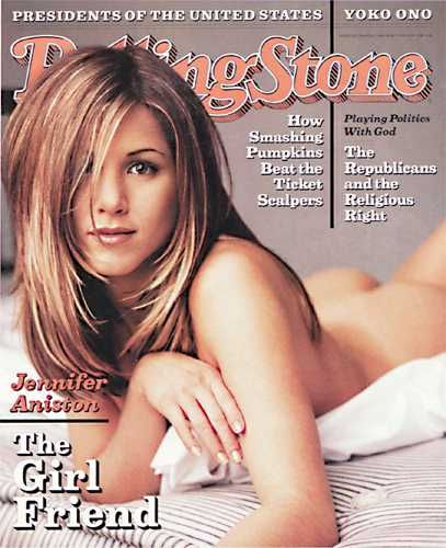 Jennifer Aniston - Rolling Stone Magazine [United States] (7 March 1996)