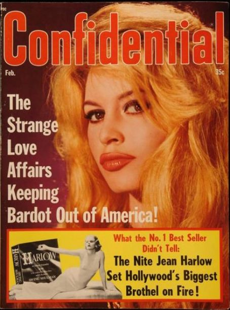 Brigitte Bardot - Confidential Magazine [United States] (February 1965)