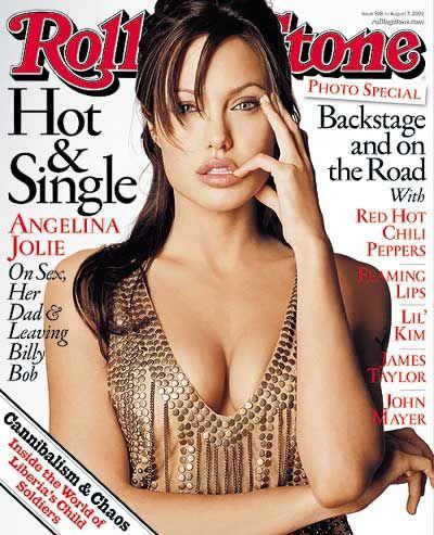 Angelina Jolie - Rolling Stone Magazine [United States] (7 August 2003)