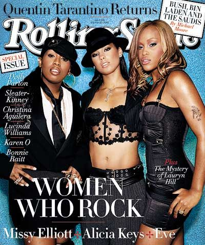 Missy Elliott - Rolling Stone Magazine [United States] (30 October 2003)
