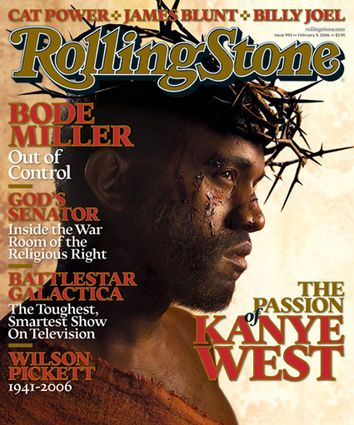 Kanye West - Rolling Stone Magazine [United States] (9 February 2006)