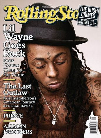 Lil' Wayne - Rolling Stone Magazine [United States] (16 April 2009)