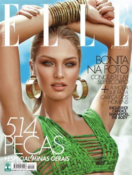 Candice Swanepoel - Elle Magazine Cover [Brazil] (September 2012)