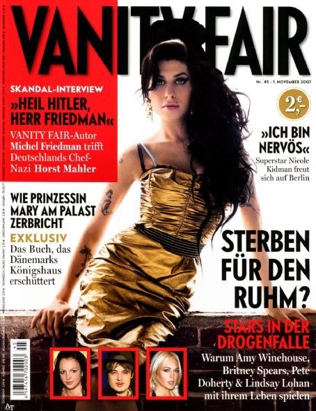 Amy Winehouse - Vanity Fair Magazine [Germany] (1 November 2007)