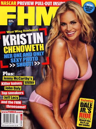 Kristin Chenoweth - FHM Magazine [United States] (March 2006)