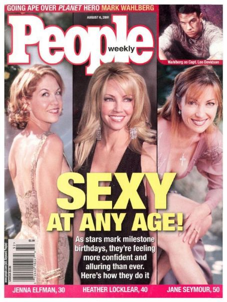 Jenna Elfman - People Magazine [United States] (6 August 2001)