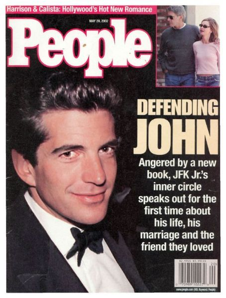John Kennedy, Jr. - People Magazine [United States] (20 May 2002)