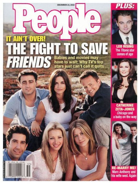 David Schwimmer - People Magazine [United States] (23 December 2002)