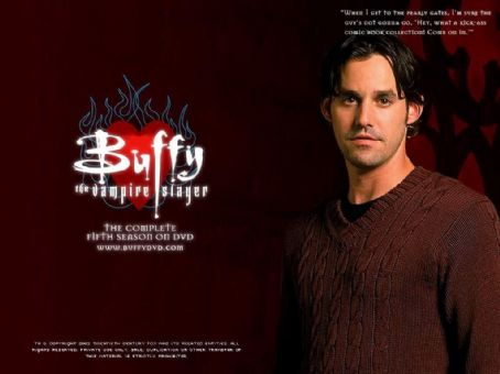 Nicholas Brendon - Buffy the Vampire Slayer Wallpaper