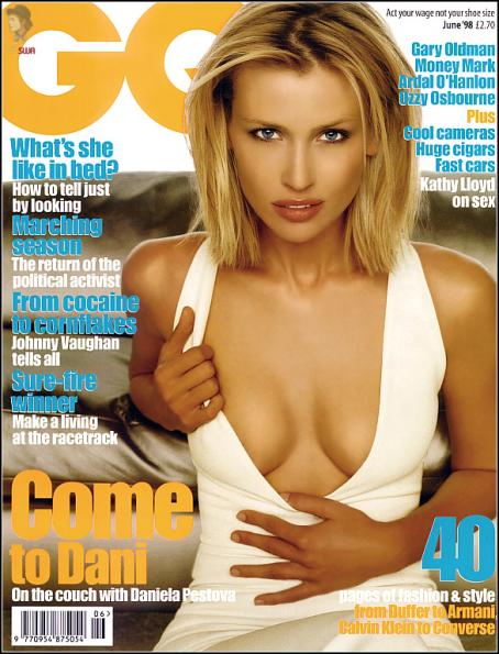 Daniela Pestova - GQ June 1998