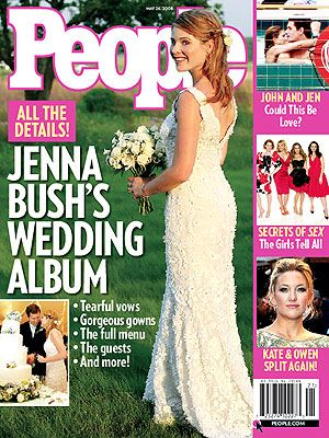 Jenna Bush - People Magazine [United States] (26 May 2008)