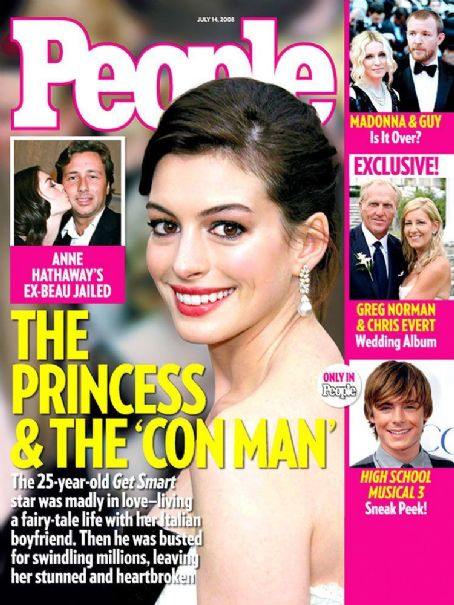 Anne Hathaway - People Magazine [United States] (14 July 2008)