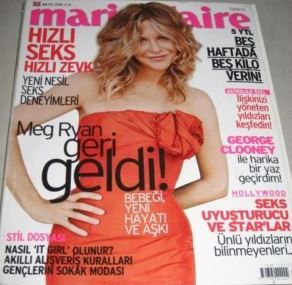Meg Ryan - Marie Claire Magazine [Turkey] (May 2006)