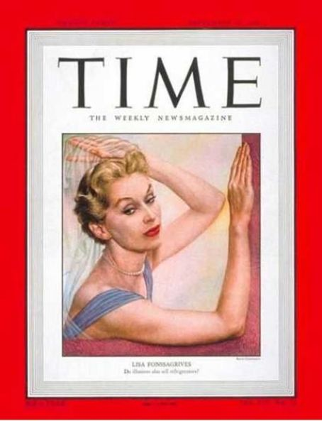 Lisa Fonssagrives - Time Magazine [United States] (19 September 1949)