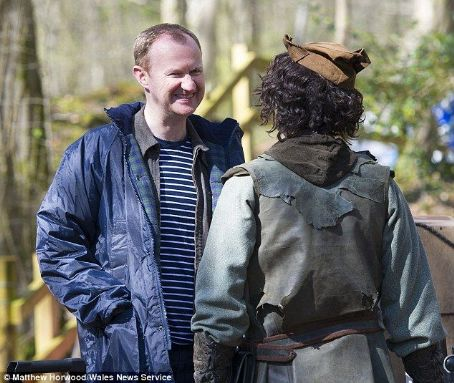 Mark Gatiss 'Robots of Sherwood'