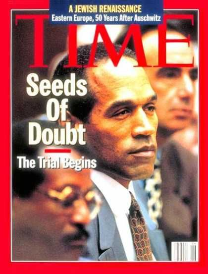OJ Simpson - Time Magazine [United States] (6 February 1995)