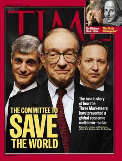 Alan Greenspan - Time Magazine [United States] (15 February 1999)