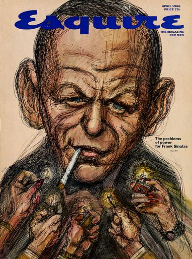 Frank Sinatra - Esquire Magazine [United States] (April 1966)