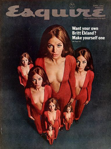 Britt Ekland - Esquire Magazine [United States] (April 1969)
