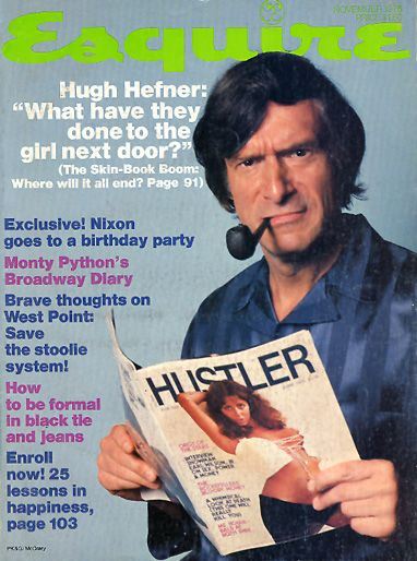 Hugh Hefner - Esquire Magazine [United States] (November 1976)