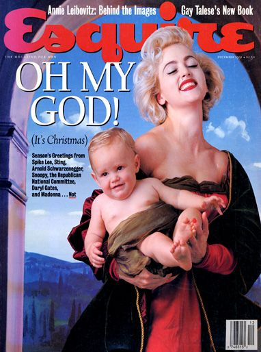 Madonna - Esquire Magazine [United States] (December 1991)