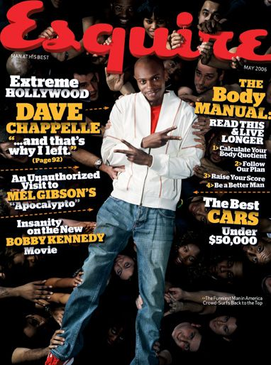 Dave Chappelle - Esquire Magazine [United States] (May 2006)