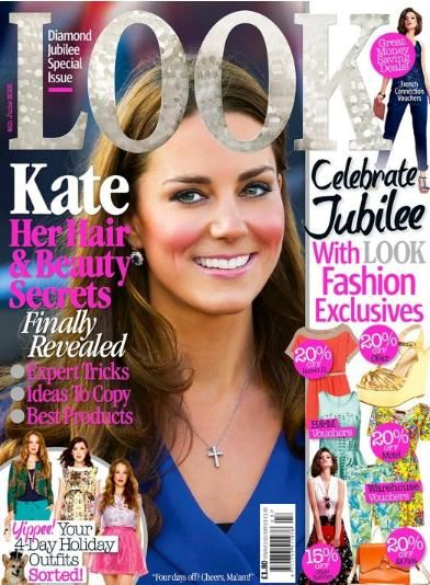 Kate Middleton - Look Magazine Cover [United Kingdom] (4 June 2012)