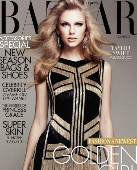 Taylor Swift: Harper's Bazaar Australia's April issue