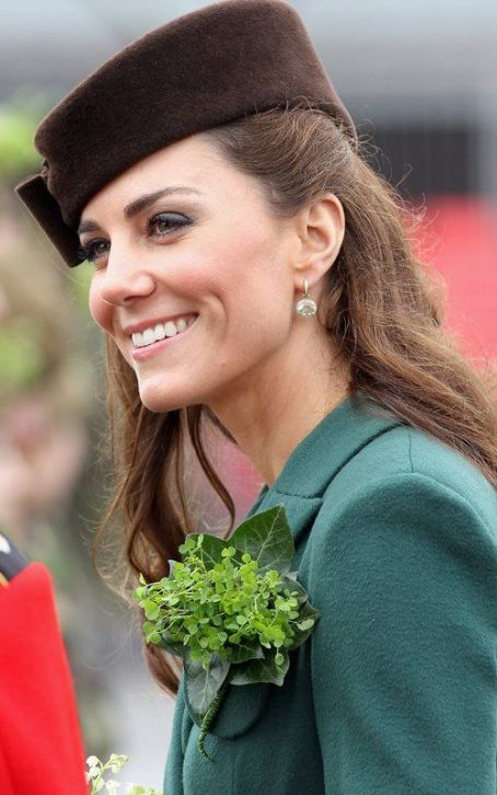 Kate Middleton Holds Court at St. Patrick's Day Parade