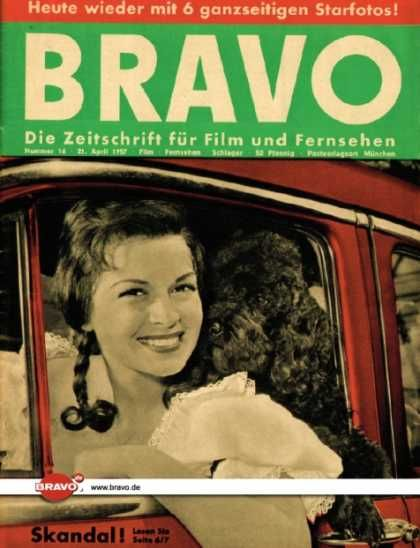 Eva Bartok - Bravo Magazine [Germany] (13 April 1957)