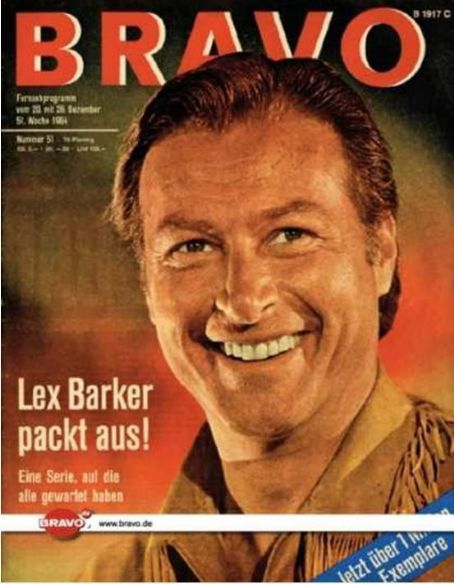 Lex Barker - Bravo Magazine [Germany] (12 December 1964)