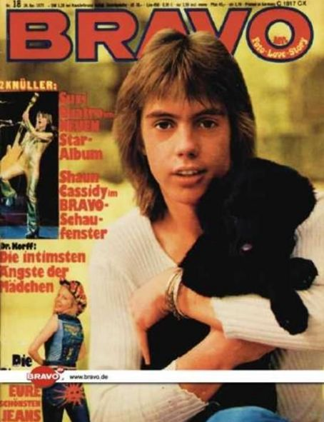 Shaun Cassidy - Bravo Magazine [Germany] (26 April 1975)