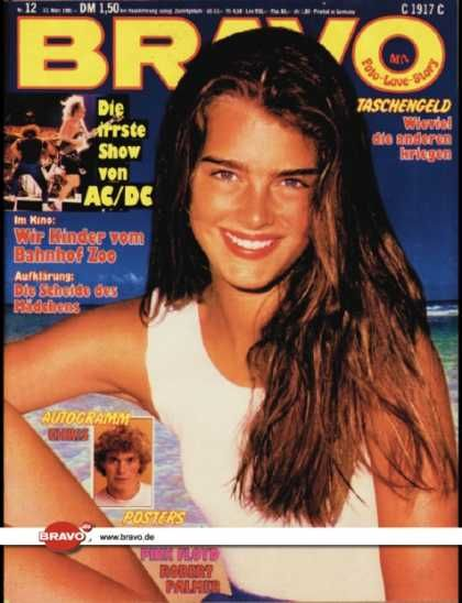 Brooke Shields - Bravo Magazine [Germany] (12 March 1981)
