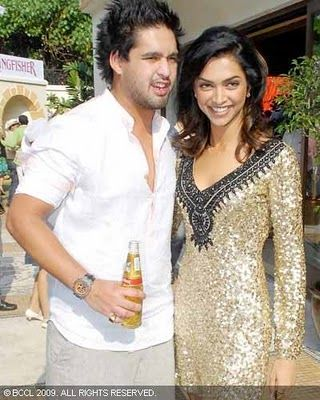 Siddharth Mallya Deepika Padukone and