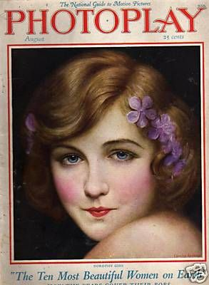 Dorothy Gish - Photoplay Magazine [United States] (August 1925)