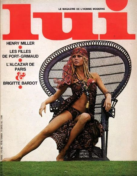 Brigitte Bardot - Lui Magazine [France] (September 1969)