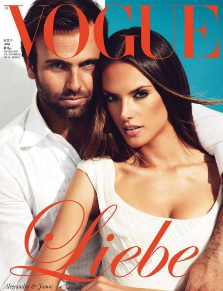 Alessandra Ambrosio - Vogue Magazine Cover [Germany] (June 2011)