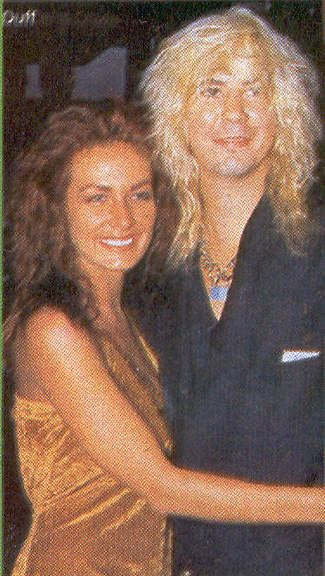 Duff McKagan and Linda Johnson Linda Johnson and Duff McKagan
