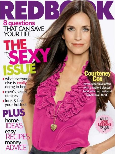 Courteney Cox - Redbook Magazine [United States] (February 2007)