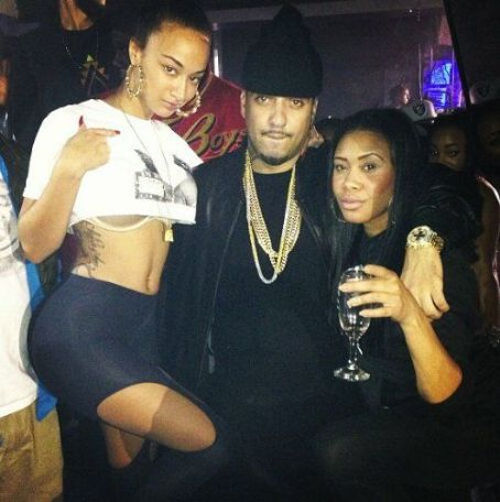 French Montana  and Draya