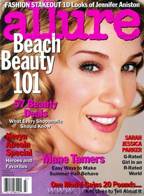 Sarah Jessica Parker - Allure Magazine [United States] (July 2000)