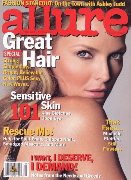 Michelle Pfeiffer - Allure Magazine [United States] (August 2000)