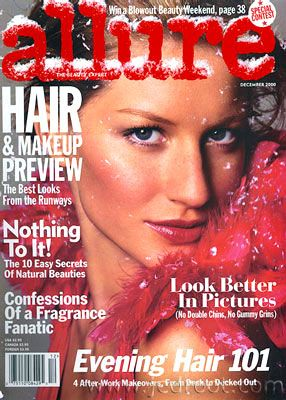 Gisele Bündchen - Allure Magazine [United States] (December 2000)