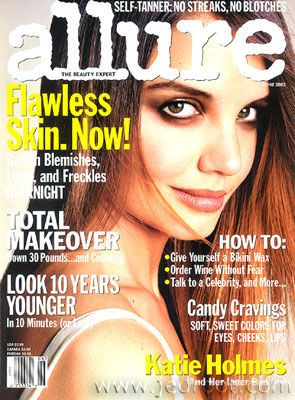 Katie Holmes - Allure Magazine [United States] (June 2003)