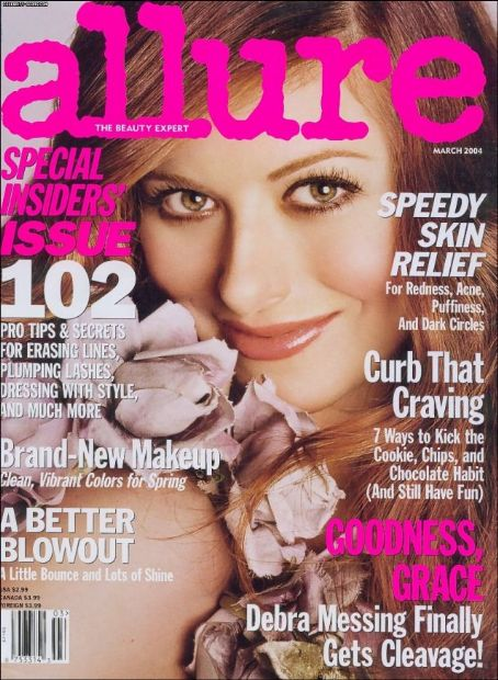 Debra Messing - Allure Magazine [United States] (March 2004)