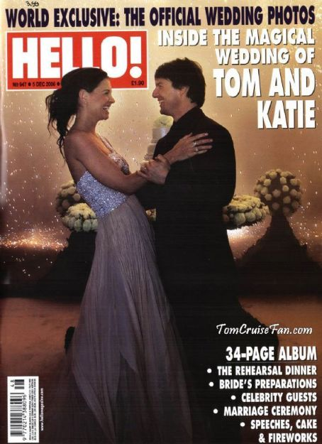 Tom Cruise - Hello! Magazine [Australia] (5 December 2006)