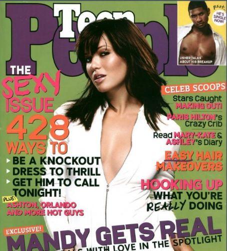 Mandy Moore - Teen People Magazine [United States] (August 2004)